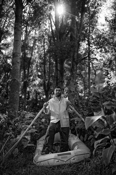 Adrian Steirn, 'Kumi Naidoo: To the end of the Earth', 2013