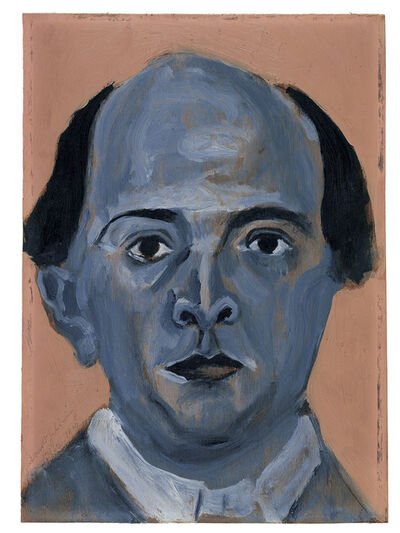 Arnold Schönberg, 'Blue Self Portrait', 1910