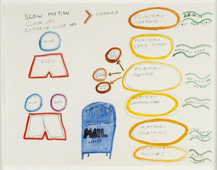 Michael Smith (American, b. 1951), 'Untitled (Slow Motion Plateau)', 2005
