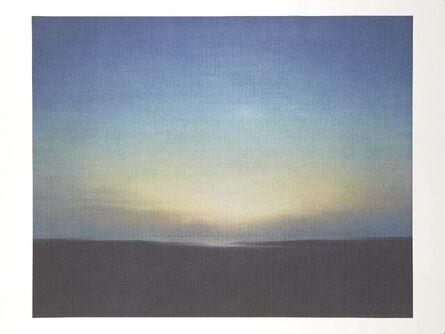 Gerhard Richter, 'Abendstimmung', 2021