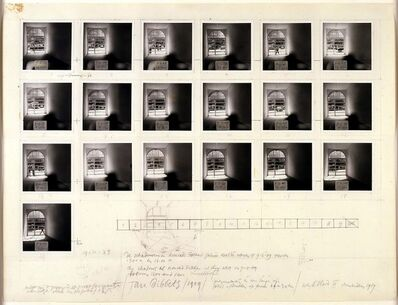 Jan Dibbets, 'The Shadows at Konrad Fischer Gallery', 1969