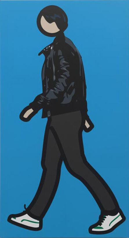 Julian Opie, 'Robbie walking 1', 2012