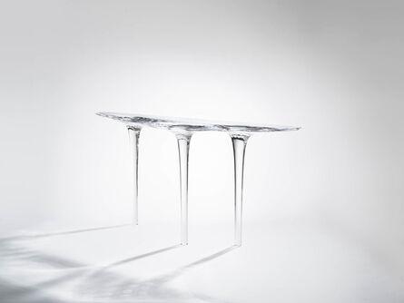 Zaha Hadid, 'Console 'Liquid Glacial 1'', 2016