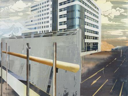 Cui Jie (b. 1983), 'Building of Blue Mirror', 2014