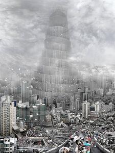 Du Zhenjun, 'BABEL TOWER- the wind 风', 2010