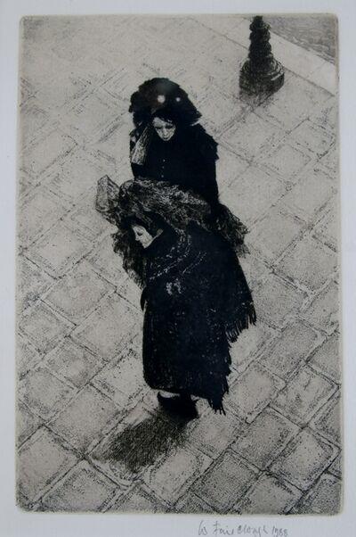 Wilfred Fairclough, 'Carnival on the Zattere, Venice', 1988