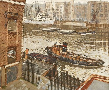 Don McBean, 'A TUG BOAT ON THE THAMES'