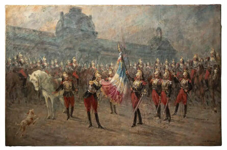 Louis Beraud, 'Ceremony of the Cuirassiers', Early 20th Century
