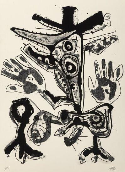 Antonio Saura, 'Amelia, from the Novisaurias series', 1969