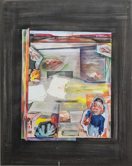 Aukse Miliukaite, 'Painter, don't lie!', 2018
