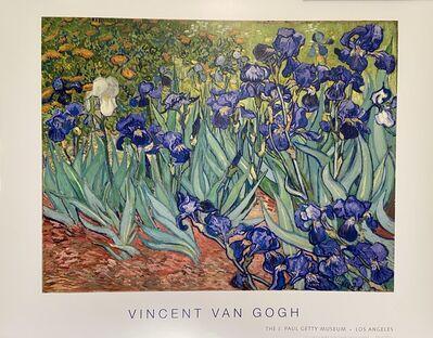 """Vincent van Gogh, 'Van Gogh, """"Irises""""Rare Museum Poster, 1889', 2015"""