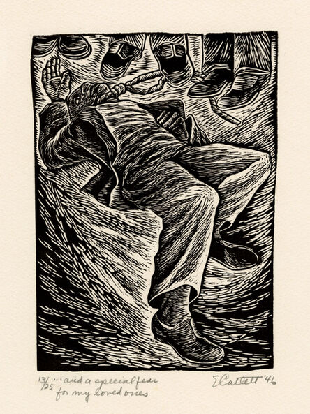 Elizabeth Catlett, '... and a special fear for my loved ones', 1946-47