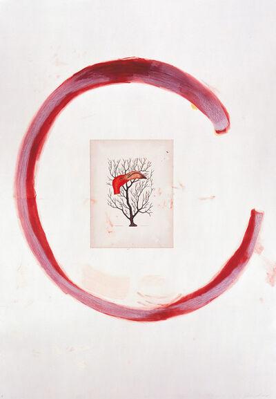 Julian Schnabel, 'Flamingo II', 1991