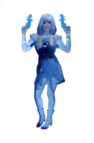 June Glasson, 'Femme Bleue', 2021