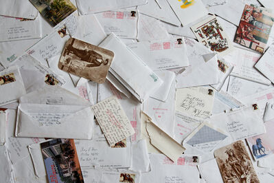 Amy Elkins, 'An Accumulation of Prison Correspondence', 2009-2016