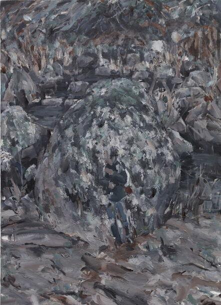 Jaemin Jang, 'Boulder, Figure', 2018