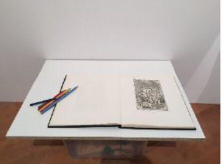 Patrick Bérubé, 'Reproduction (à colorier)', 2016