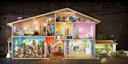 David LaChapelle, 'Self Portrait as a House', 2013