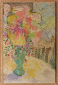 Jess, 'Four O'Clock Shadow of Purple Papier-Mâché', 1955