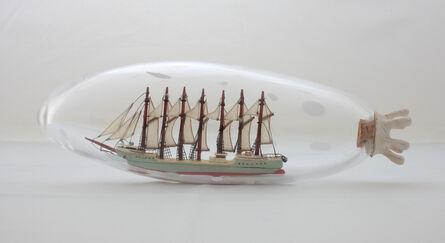 Nobuaki Takekawa, 'Ship in a Sea Cucumber', 2011