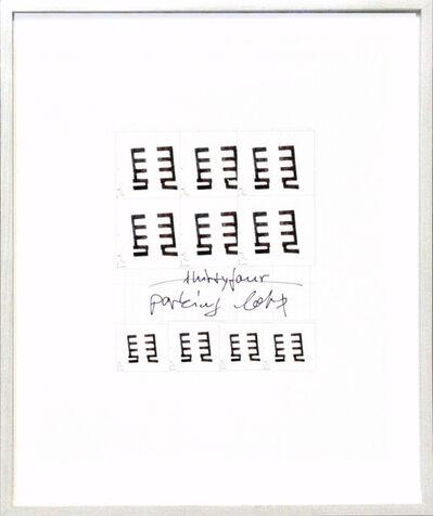 Frank Mädler, 'Pen:Parking Lot', 2013