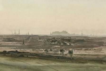 Claude Muncaster, 'VIEW OF EDINBURGH'