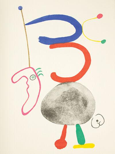 Joan Miró, 'Parler Seul', [Paris]: Maeght, 1948, 1950.
