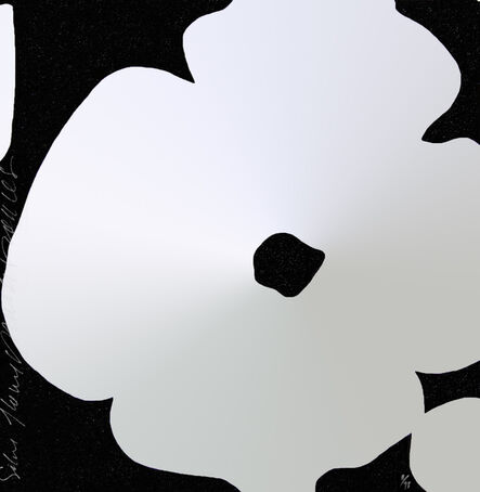 Donald Sultan, 'Silver Flowers, March 5, 2011', 2011