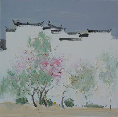 Jin Jie 金捷, 'Peach Blossoms, 桃意丹枝', 2014