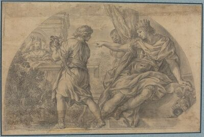 after Pietro da Cortona, 'Masinissa and Sophonisba'