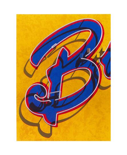 Robert Cottingham, 'An American Alphabet: B', 2008