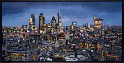 Paul Kenton, 'London Metallique', 2019