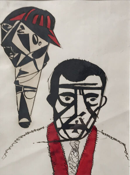 Erwin Blumenfeld, 'The Jockey', 1919-1925