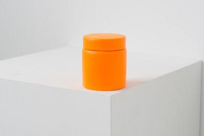 Lai Chih-Sheng 賴志盛, 'Paint Can _Flourescent Orange-Yellow', 2016