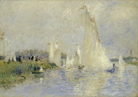 Pierre-Auguste Renoir, 'Regatta at Argenteuil', 1874