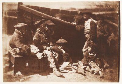 Hill & Adamson, 'Newhaven Boys', 1843–1847