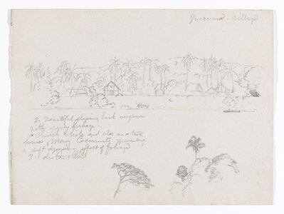 Frederic Edwin Church, 'The village Guarumo, probably in Colombia', 1853
