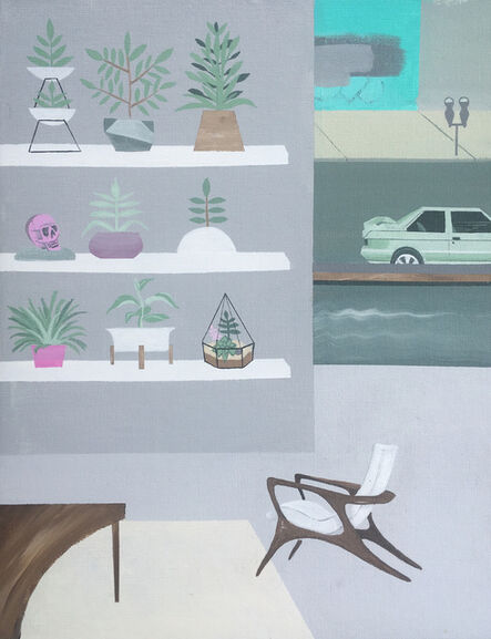 Keith Garcia, 'Daytona Lounge and Floral', 2018