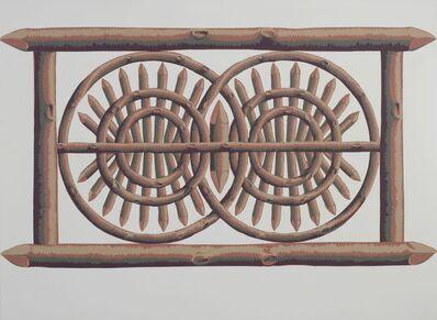 Walter Obholzer, 'Trompe-l'œil (Zaun)', ca. 2000