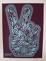 Shepard Fairey, 'Obey Peace Fingers', 2010