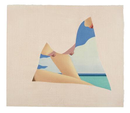 Tom Wesselmann, 'Seascape Dropout', 1982