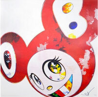 Takashi Murakami, 'And Then x 727 (Vermillion: SHU)', 2013