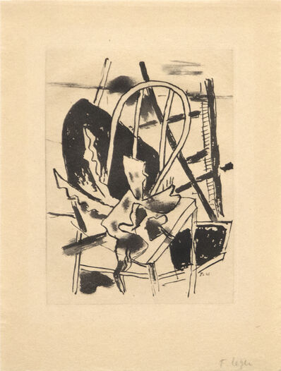 "Fernand Léger, 'Plate 7 from the portfolio, ""Du Cubisme""', 1945"