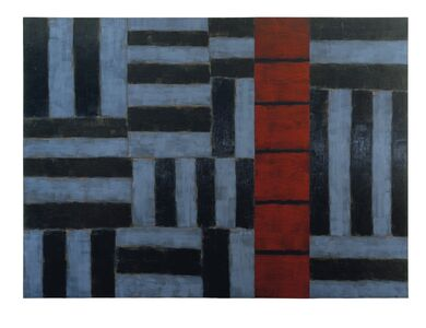 Sean Scully, 'Red Ascending', 1990