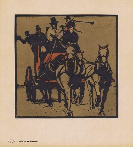 William Nicholson, 'Coaching', 1898