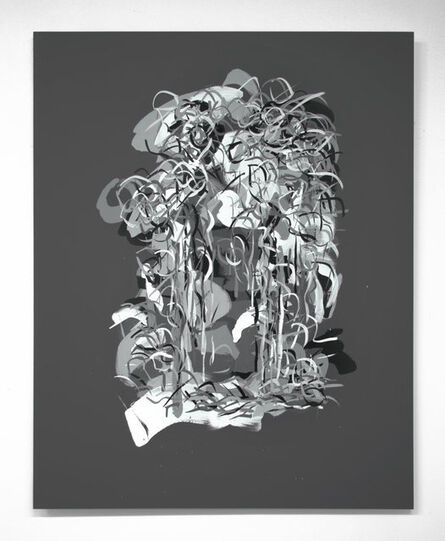 "Carol Salmanson, '""Radiations 13""', 2018"