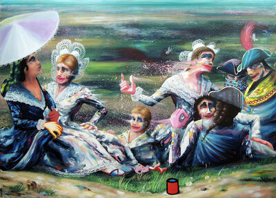 Thomas Agrinier, 'San Isidoro (d'après Goya)', 2020