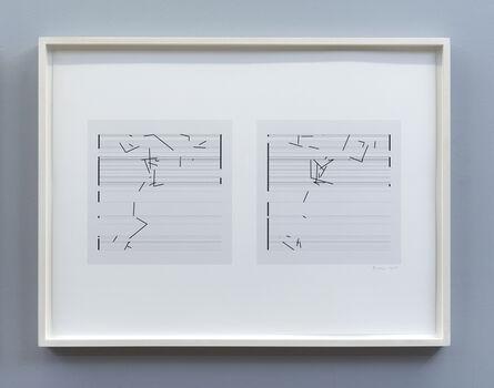 Manfred Mohr, 'P1682_166', 2014