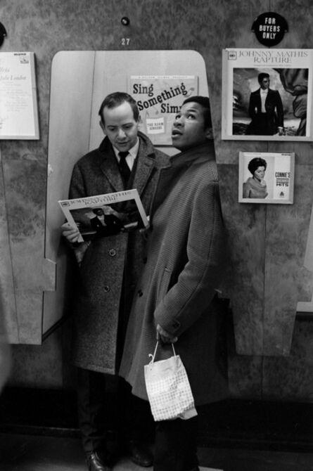 John 'Hoppy' Hopkins, 'Record Shop 2, Possibly London', 1962