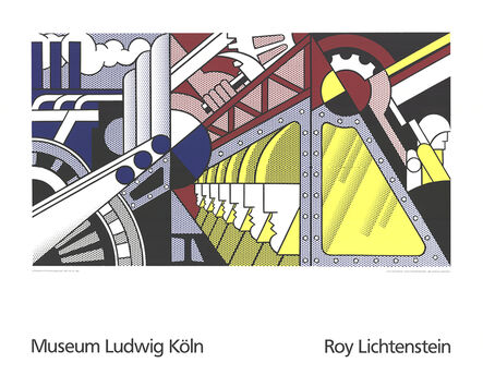 Roy Lichtenstein, 'Study For Preparedness', 1989
